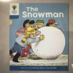 Day 46 Phonics 『ure』&『The Snowman』※雪玉を転がしている表紙