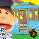 おススメ英語手遊び歌ランキング第一位!【The Wheels On the Bus バスの車輪の歌】